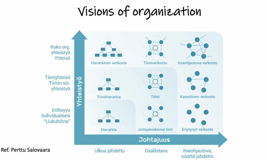 Visions of organization, Perttu Salovaara Thesis