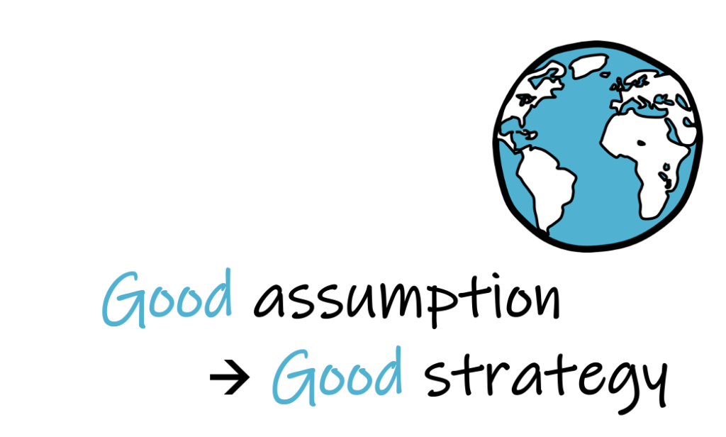 good assumption, good strategy