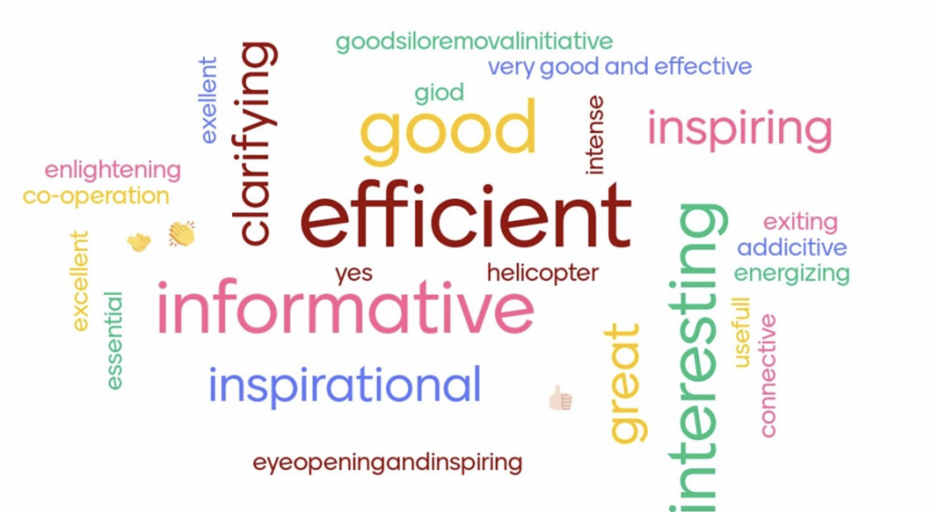 word cloud, how was the meeting?
