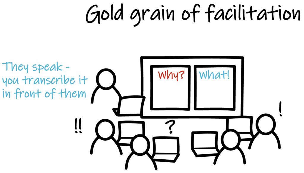 gold grain of facilitation