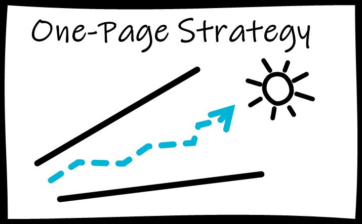 Stradigo Helps You Create A One-Page Strategy